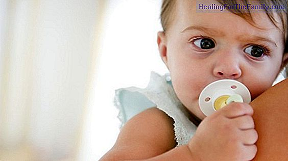 Infallible trick for the baby to leave the pacifier