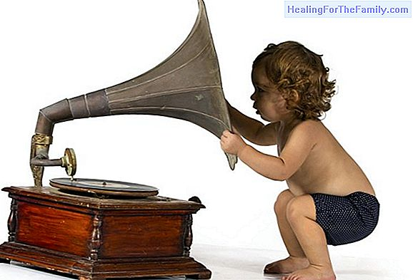 Musical stimulation for babies