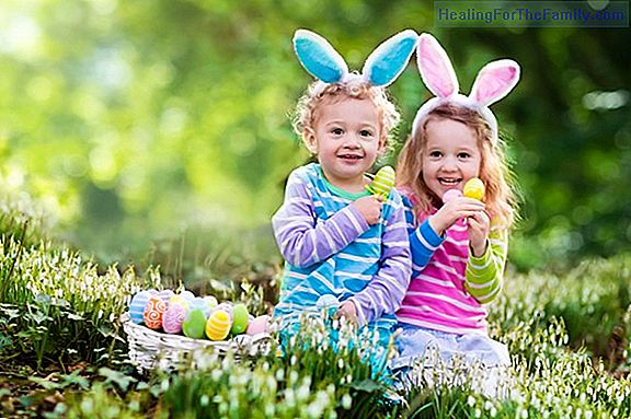 12 Ideas to celebrate Easter with the children