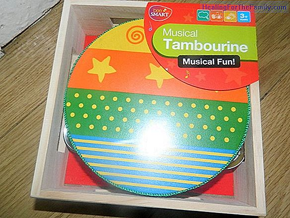 A tambourine sounds. Children's Christmas songs
