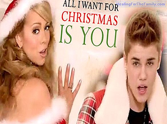 All I want for Christmas is you. English song for children