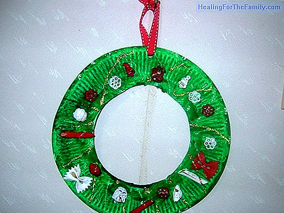 Christmas crafts for children with cardboard plates