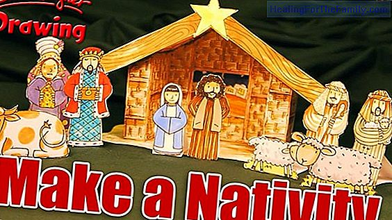 Nativity scenes to make with children