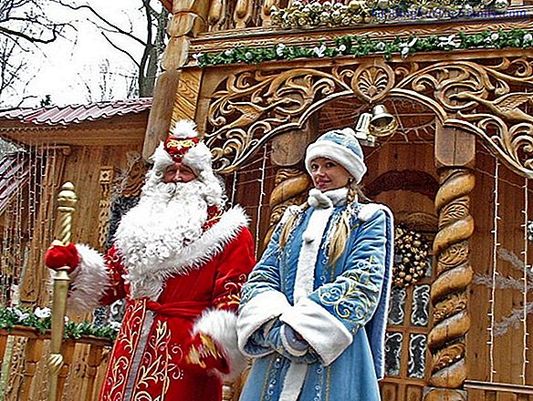 The snow maiden. Russian Christmas legend for children