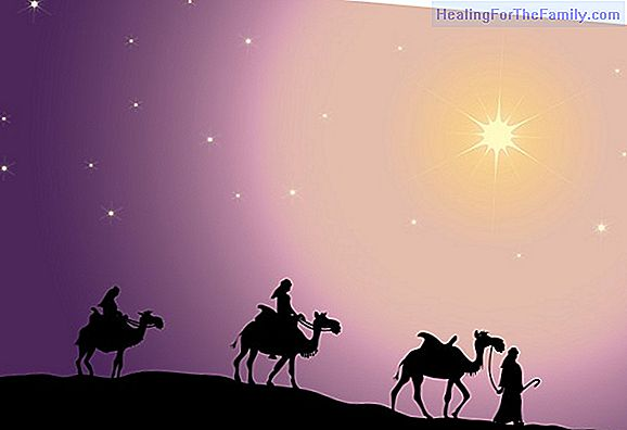 The star of Bethlehem. Christmas story for children