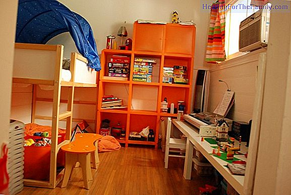 How to decorate children's bedrooms for three
