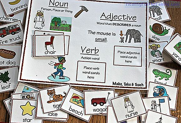 Game to teach nouns to children