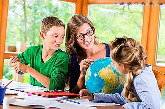 Home school: schooling the children at home