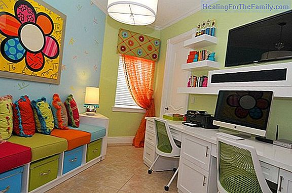 How to organize the study area for children