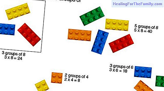Ideas to teach math to children with LEGO