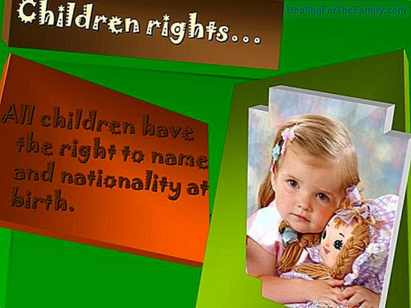 The right of children to have a name and nationality
