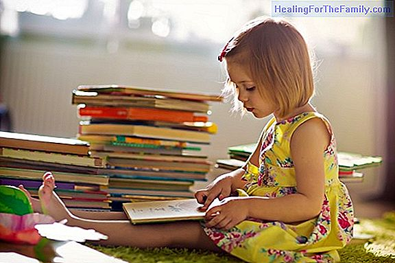 This is how the children read. Reading in childhood