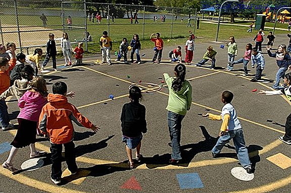 What children learn at school recess