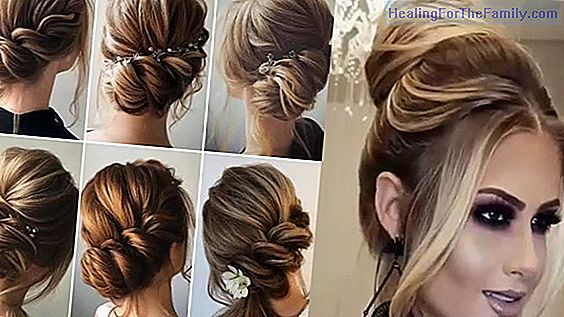 Videos of hairstyles for girls at Christmas