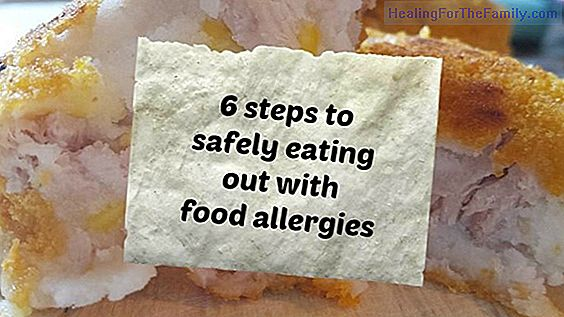 Eating out with children who have food allergies