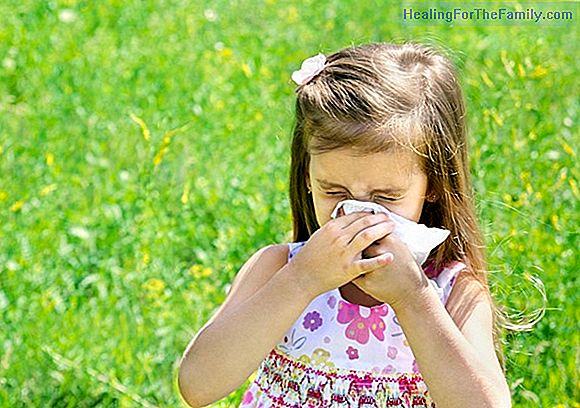 Allergy to dust in children