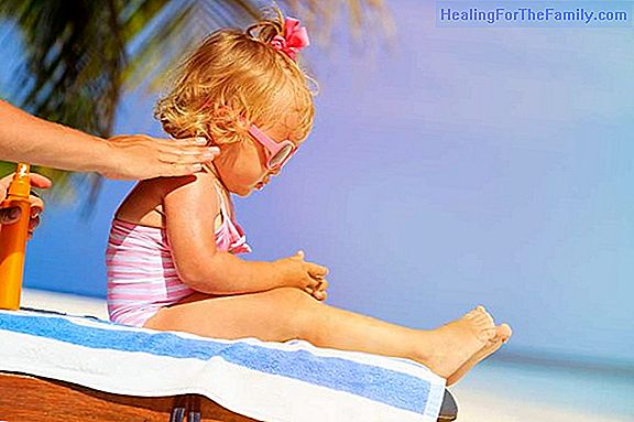 How to apply sun creams to children