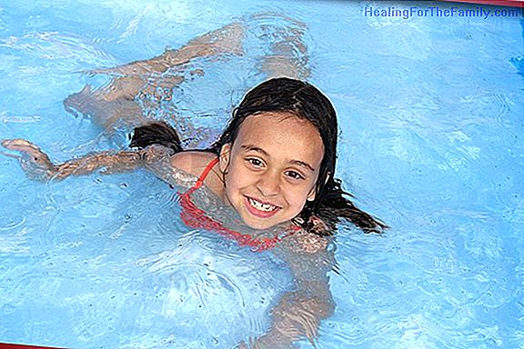 Otitis externa in children. Swimmer's Otitis