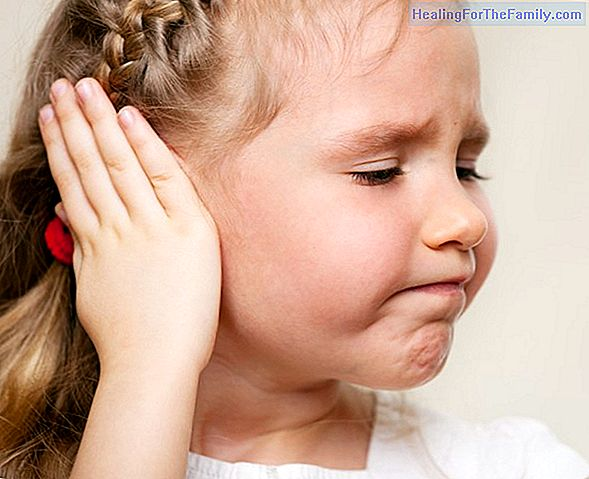 Otitis in babies and children. Infection and earache