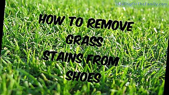 Tricks to remove grass stains or children's jeans jeans