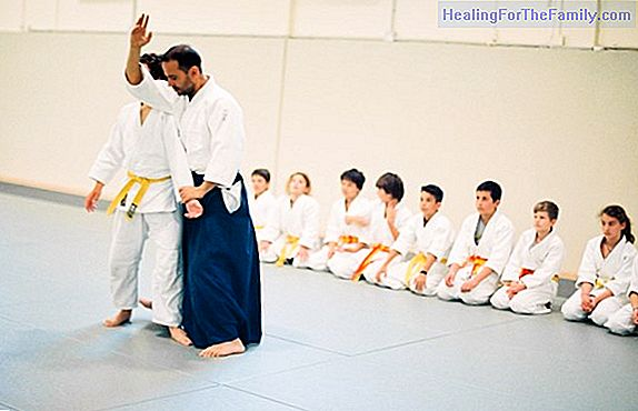 Aikido and children. Martial art
