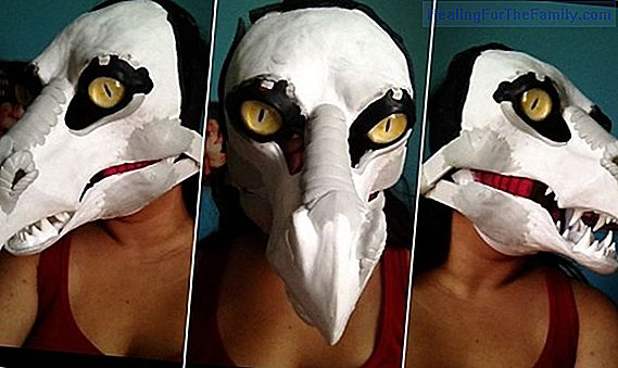 Christmas Angel Mask. Costume crafts