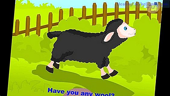 Baa, baa, black sheep. Song to learn English