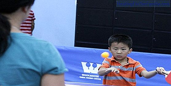 Benefits of ping pong for children
