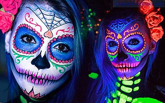 Catrina makeup. Halloween Crafts