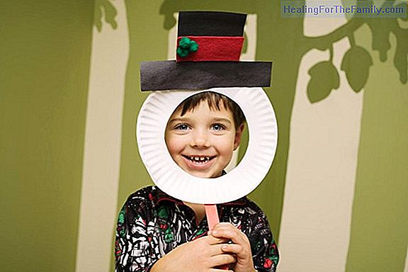 Christmas elf mask. Costume crafts