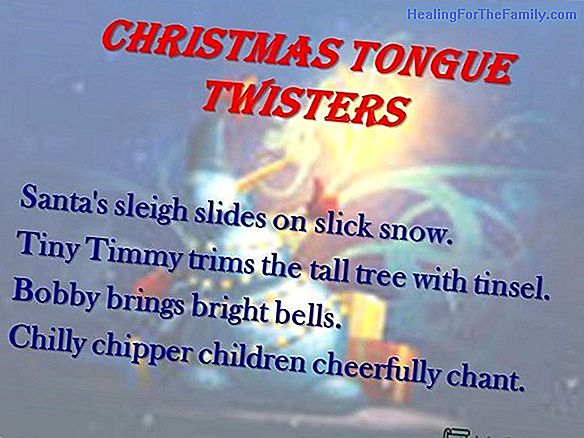 Christmas tongue twisters for children