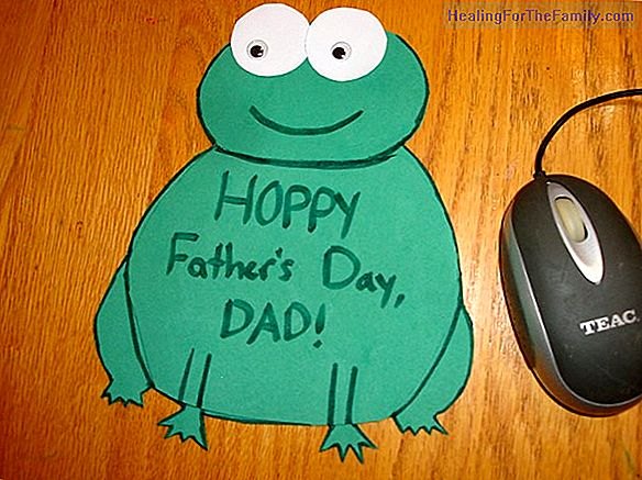 Crafts for Father's Day. Mouse pad