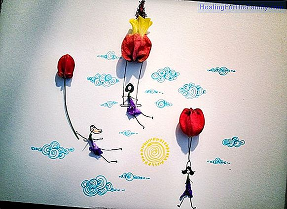 Fantasy flower with balloons. Balloon Crafts