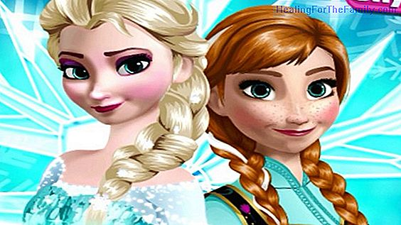 Frozen makeup for girls