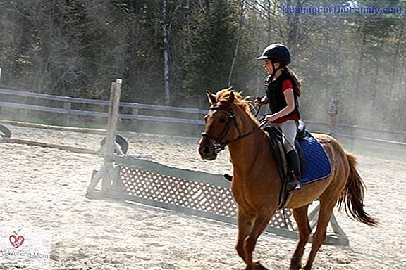 Benefits of horse riding for children
