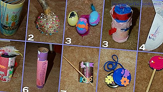 How to create homemade musical instruments with children