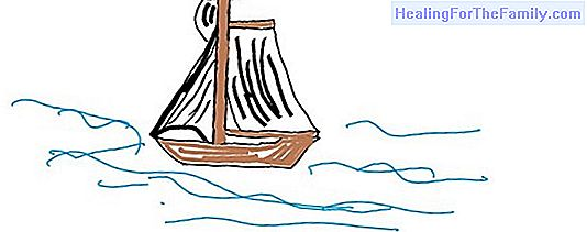 How to do, step by step, a drawing of a boat