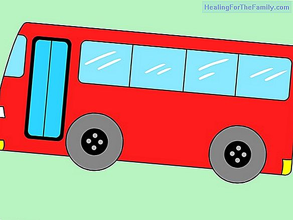 How to draw a bus. Transportation drawings for children