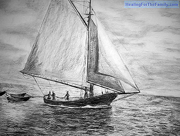 How to draw a sailing ship. Boat drawings for children