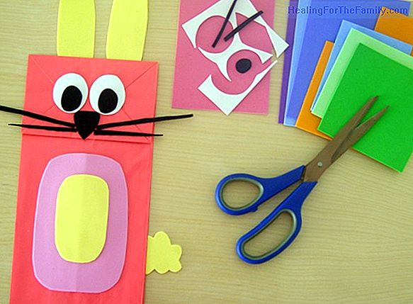 How to make a Pinocchio puppet. Crafts for children