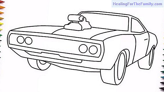 How to do, step by step, a drawing of a car