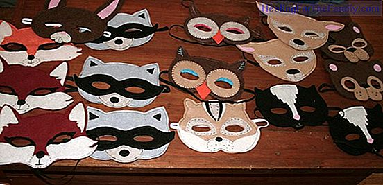 How to do, step by step, a raccoon mask