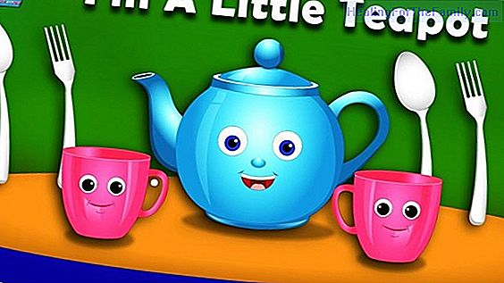 I'm a little teapot. Song to dance in English