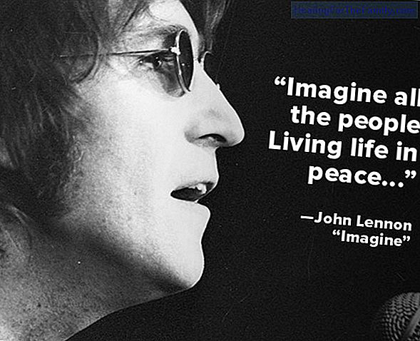 Imagine. Song of world peace