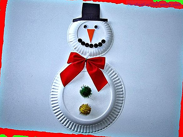 Paper Christmas tree. Easy crafts