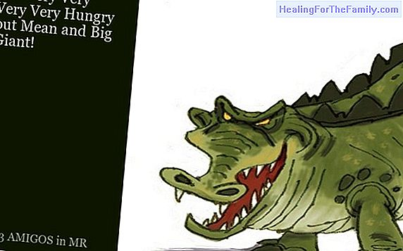 The giant crocodile. Poetry with rhyme for children