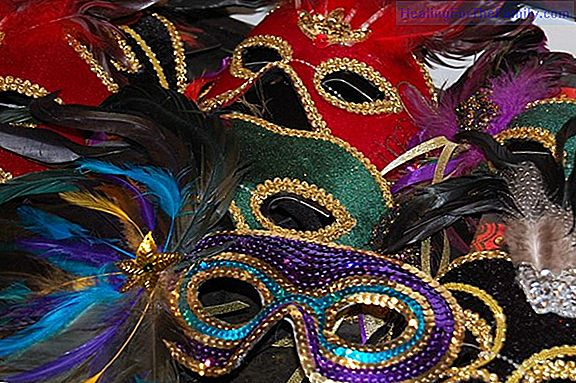 Videos to learn how to make carnival masks with dishes
