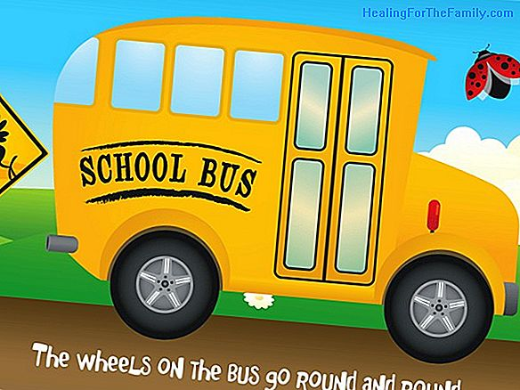 Wheels on the bus. Song to dance in English