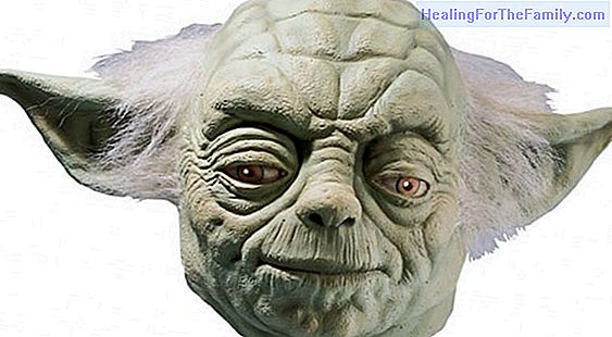 Yoda mask Children's costume crafts