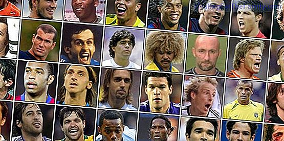 Names of famous football players for children